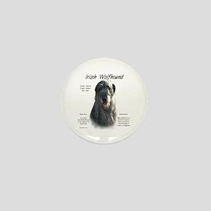 Irish Wolfhound (grey) Mini Button