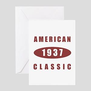1937 American Classic Greeting Card