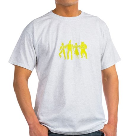 Wizard of Oz Stencil Art Light T-Shirt