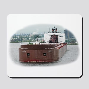 Paul R. Tregurtha departing Duluth Mousepad