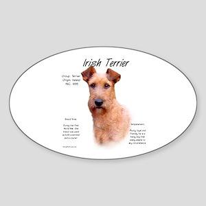 Irish Terrier Sticker (Oval)