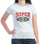 Super Mom Jr. Ringer T-Shirt