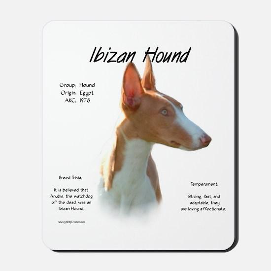 Ibizan Hound Mousepad