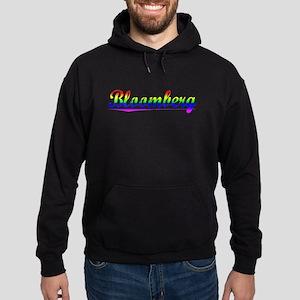 Bloomberg, Rainbow, Hoodie (dark)