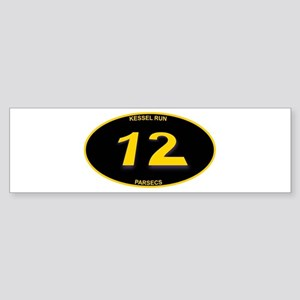Kessel Run 12 Parsecs Sticker (Bumper)