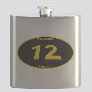 Kessel Run 12 Parsecs Flask