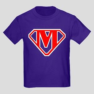 New SuperMark Logo Kids Dark T-Shirt