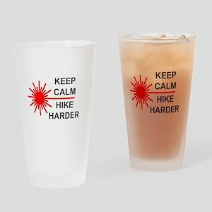 Laser Keep Calm Drinking Glass