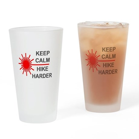 Laser Keep Calm Drinking Glass