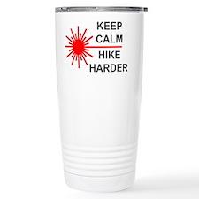 Laser Keep Calm Stainless Steel Travel Mug