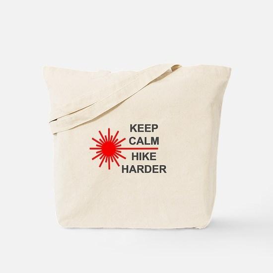 Laser Keep Calm Tote Bag