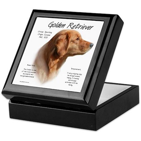 Golden Retriever Keepsake Box