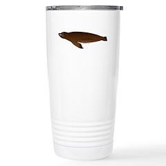 California Sea Lion Stainless Steel Travel Mug
