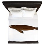 California Sea Lion King Duvet