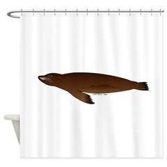 California Sea Lion Shower Curtain