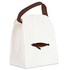 California Sea Lion Canvas Lunch Bag