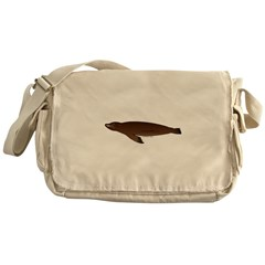 California Sea Lion Messenger Bag