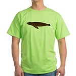 California Sea Lion Green T-Shirt