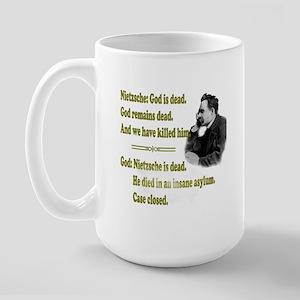Nietzche 15 Oz Ceramic Large Mug Mugs