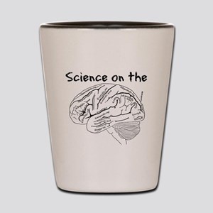 Science on the Brain Shot Glass