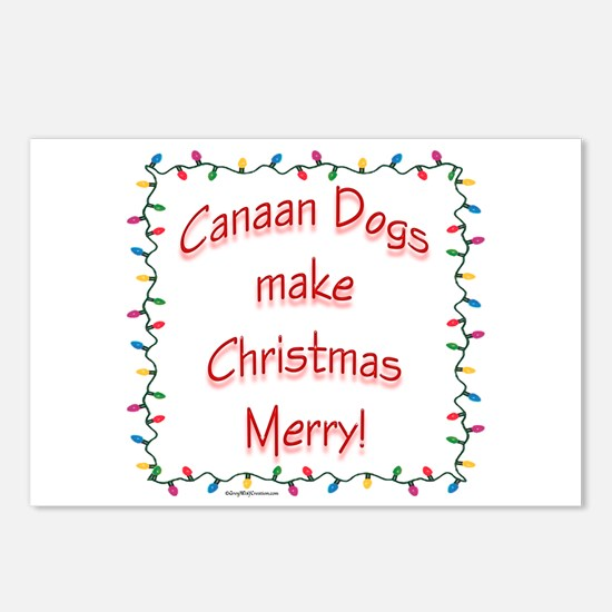 Canaan Merry Postcards (Package of 8)