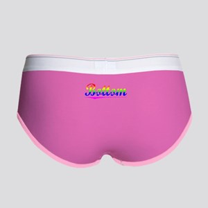 Bottom, Rainbow, Women's Boy Brief