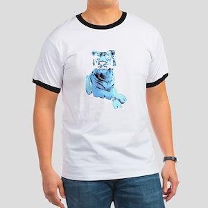 Blue Tiger Ringer T