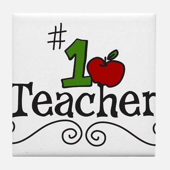 School Teacher Tile Coaster