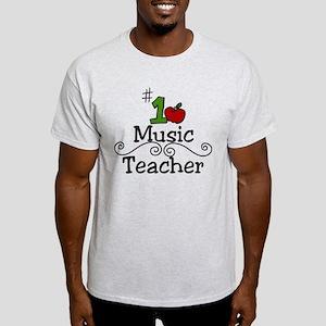 Music Teacher Light T-Shirt