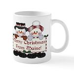 Merry Christmas From Maine! Mug