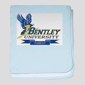 BENTLEY UNIVERSITY PARENT baby blanket