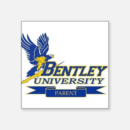 "BENTLEY UNIVERSITY PARENT Square Sticker 3"" x 3"""