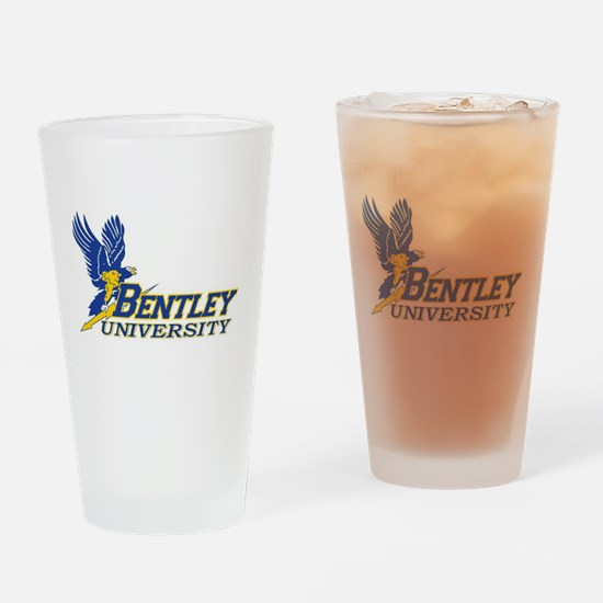 BENTLEY UNIVERSITY Drinking Glass