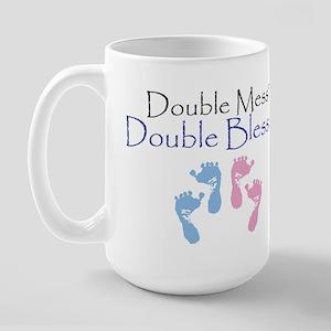 Double Blessed Large Mug