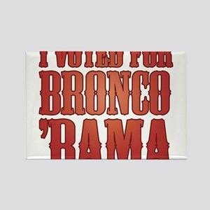 I Voted for Barack Obama or Bronco Bama Rectangle