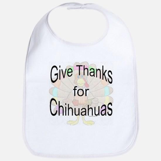 Thanks for Chihuahua Bib