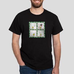 A Very Woodstock Christmas Dark T-Shirt