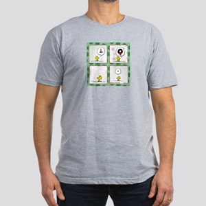 A Very Woodstock Christmas Men's Fitted T-Shirt (d