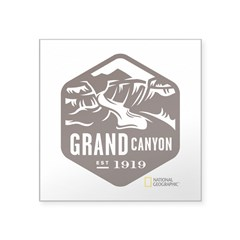 Grand Canyon Square Sticker 3