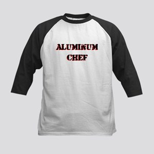 Aluminum Chef Iron Parody TV Kids Baseball Jersey