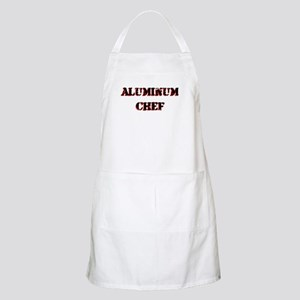 Aluminum Chef Iron Parody TV BBQ Apron