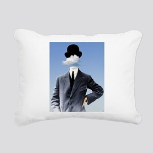 Head In The Clouds Rectangular Canvas Pillow