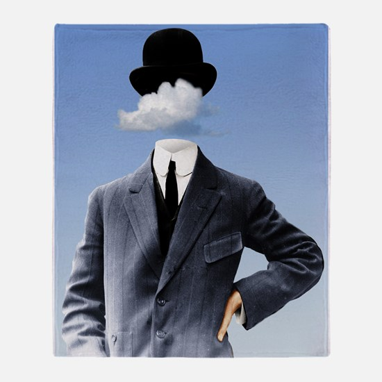 Head In The Clouds Throw Blanket