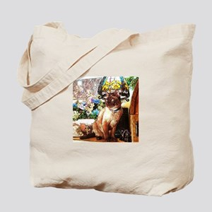 Tonkinese under Tiffany Lamp Tote Bag
