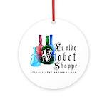 Viobot Shoppe Ornament (Round)