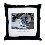 BridgingTheWorlds.org Throw Pillow