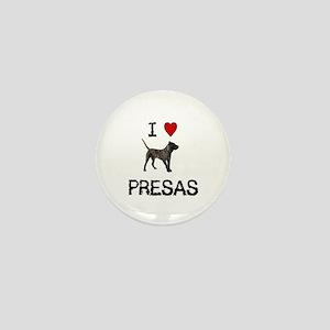 I love Presas Mini Button