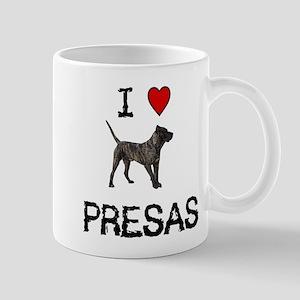 I love Presas Mug