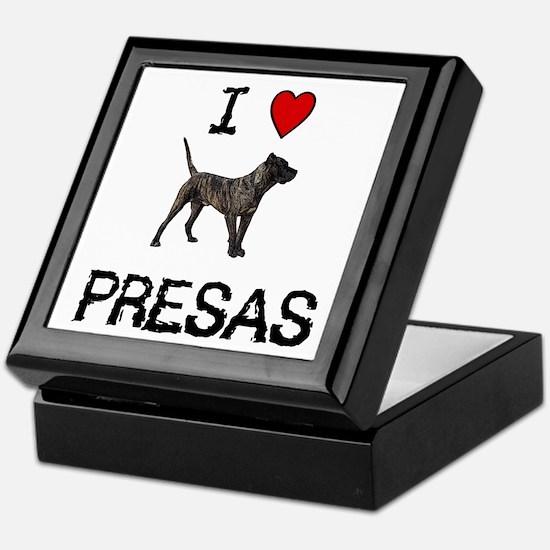I love Presas Keepsake Box