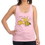 Original Cute Stinger Bee Racerback Tank Top